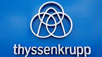 Thyssenkrupp reorganises industrials unit as problems mount