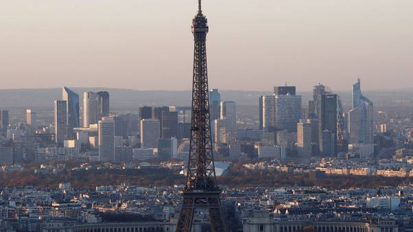 French central bank trims growth outlook