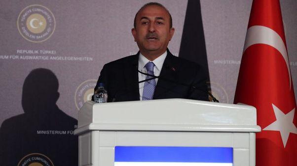 وزير خارجية تركيا: نعمل على وقف إطلاق النار في إدلب السورية