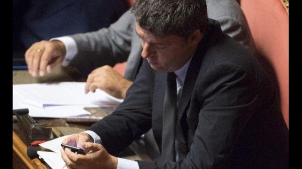 Renzi, opposizione c'è