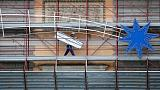 Euro zone labour costs rise at fastest pace in six years