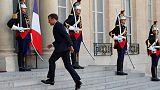 Macron mugs - France's Elysee Palace moves into memorabilia
