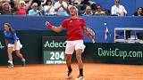Coric gives Croatia flying start in Davis Cup semi-final