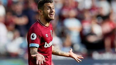 West Ham's Wilshere to miss Everton clash with ankle injury