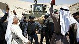 Cisjordanie: échauffourées près d'un village de bédouins promis à la démolition