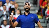 Coupe Davis: baptême réussi pour Benoît Paire qui décroche le premier point face à l'Espagne