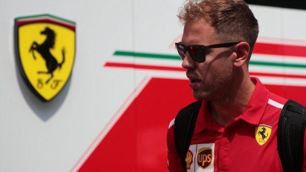 Vettel ottimista 'ho buone sensazioni'