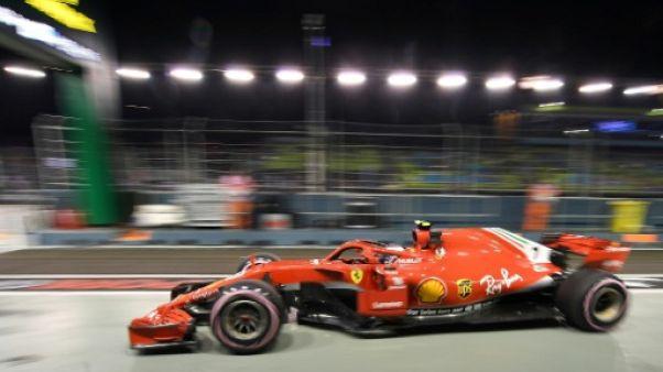 GP de Singapour: Räikkönen et Hamilton en pointe, Vettel à la faute