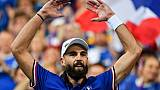 """Coupe Davis: """"un rêve qui se réalise"""" pour Benoît Paire"""