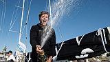 Solitaire du Figaro: la victoire en poche, Simon s'envole vers le tour du monde