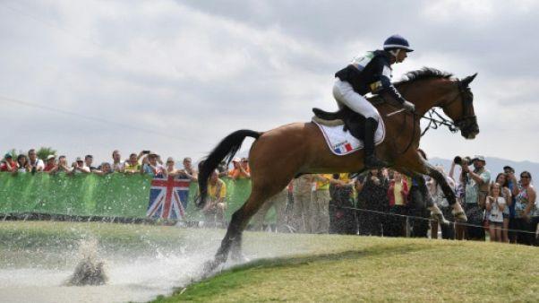 Le cavalier français Thibaut Vallette lors des JO de Rio, le 8 août 2016