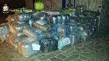 Gdf sequestra 1,7 tonnellate marijuana