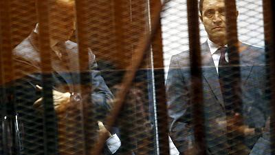 Egyptian court orders arrest of Mubarak's sons over stock market manipulation