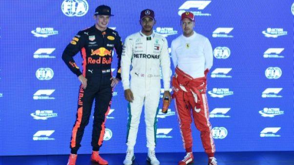 """GP de Singapour: """"Magic"""" Hamilton rayonne, Vettel fait grise mine"""