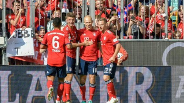 Allemagne: le Bayern prend seul la tête de la Bundesliga