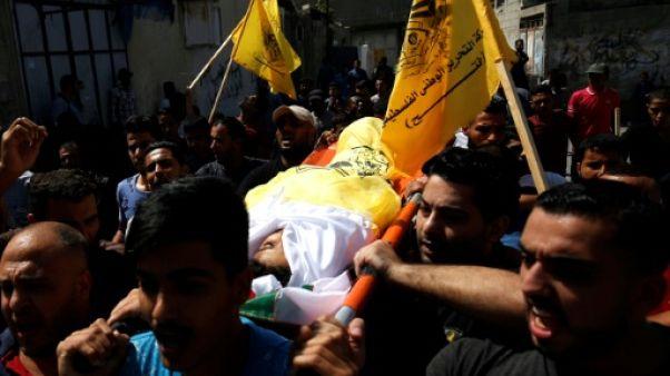 Gaza: funérailles d'un enfant palestinien tué lors d'affrontements