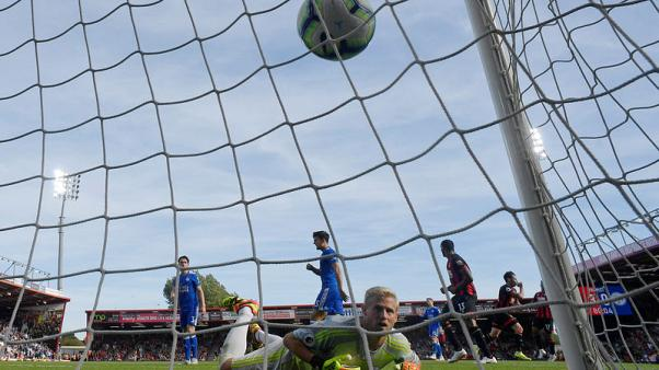 Fraser double fires Bournemouth to 4-2 win over Leicester