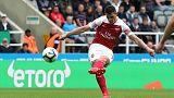 Xhaka cracker helps Arsenal to 2-1 win over Newcastle