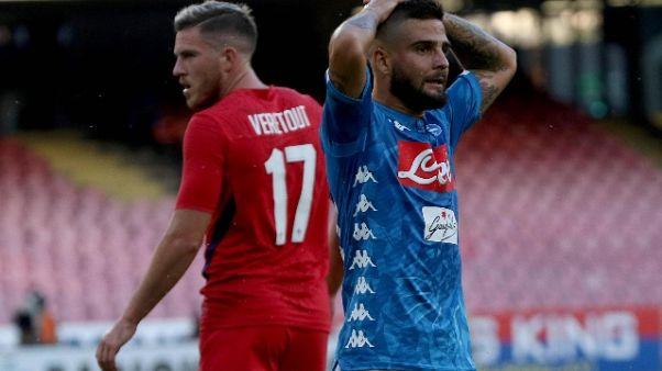 Serie A: Napoli-Fiorentina 1-0