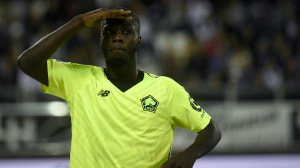 Ligue 1: un triplé de Pépé offre la 2e place à Lille