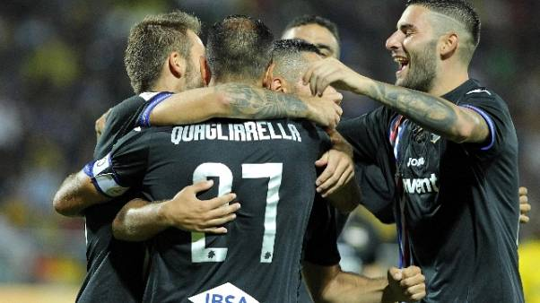 Calcio: Frosinone-Sampdoria 0-5