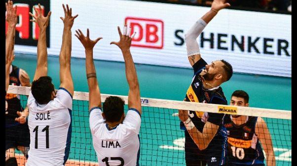 Mondiali volley: Italia-Argentina 3-1