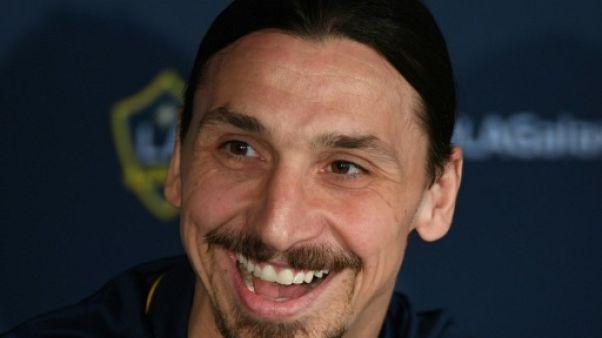 Zlatan Ibrahimovic, le 30 mars 2018 à Los Angeles