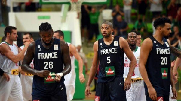 Mondial de basket: opération rachat pour les Bleus