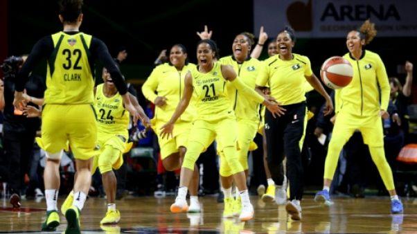WNBA: les basketteuses de Seattle n'iront pas à la Maison blanche