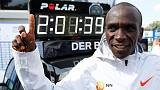 Kenyan Kipchoge shatters marathon world record in Berlin