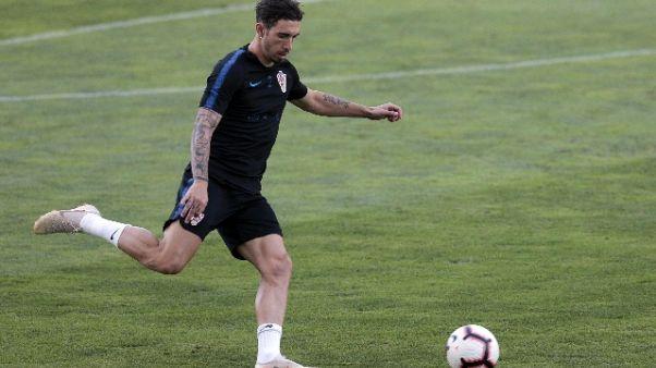 Inter,infiammazione a ginocchio Vrsaljko