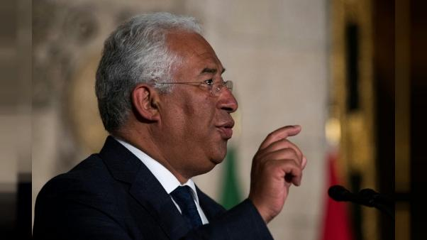 Le Premier ministre portugais António Costa, à Ottawa, le 3 mai 2018