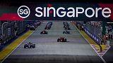F1: Singapore,a metà gara guida Hamilton