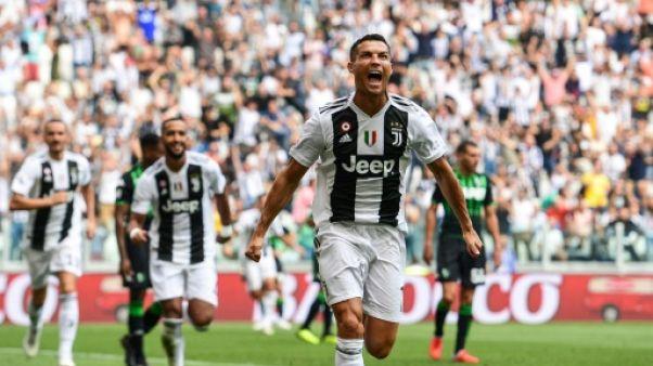 Italie: premier but de Cristiano Ronaldo avec la Juventus Turin