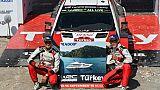 Rallye de Turquie: Tänak menace Neuville et Ogier dans la lutte pour le titre