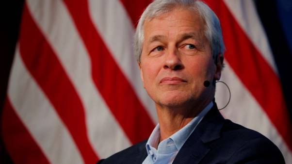 JP Morgan chief Dimon says shouldn't have made remarks about Trump