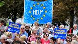 Around 1,000 Hungarians protest against Orban at pro-EU rally