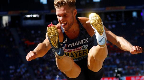 France's Mayer breaks world decathlon record