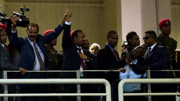 Ethiopian, Eritrean leaders sign peace agreement in Jeddah