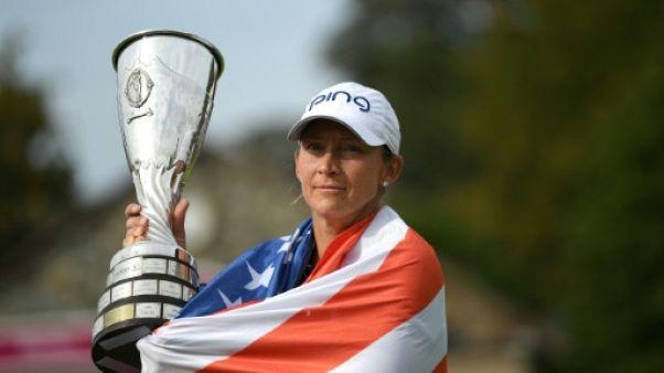 Evian Championship: l'Américaine Stanford remporte son premier majeur à 40 ans