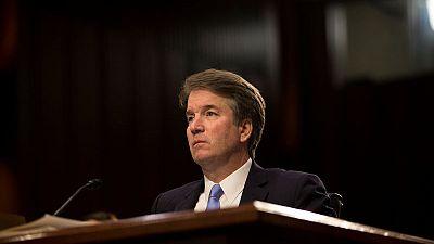 Accuser of U.S. high-court nominee Kavanaugh goes public