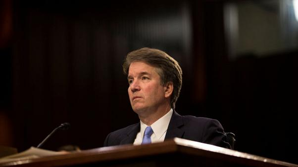 Accuser of U.S. high-court nominee Kavanaugh goes public