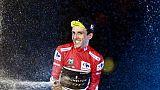 Le Britannique Simon Yates vainqueur du Tour d'Espagne le 16 septembre 2018
