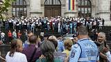 Romanian magistrates rally to support rule of law