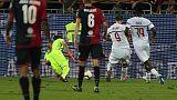 Serie A: Cagliari-Milan 1-1