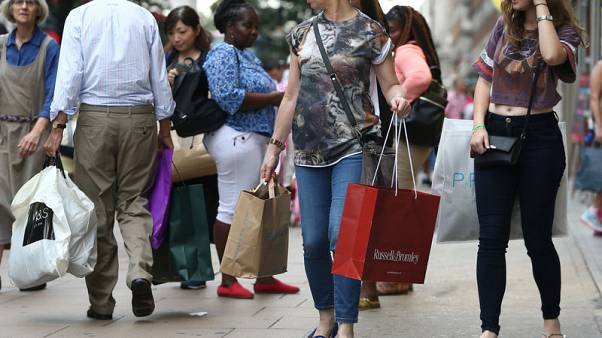 UK consumer spending grows at fastest pace since January - Visa