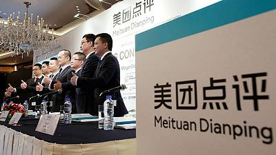 As its trading debut looms, China's Meituan locked in battle of super-apps