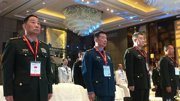 Top Chinese general attends joint forum with U.S. military, despite tensions