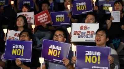 Au nom du Père: la succession héréditaire contestée dans une Eglise de Séoul