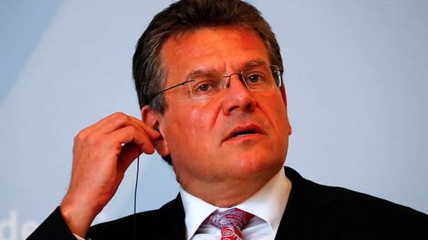 Slovakia's Sefcovic announces bid to head European Commission